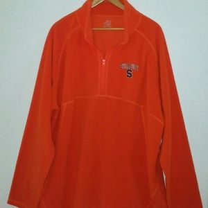 Other - Syracuse Orange pullover 3/4 zip fleece XL